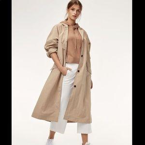 Aritzia the group babaton Skylar trench coat